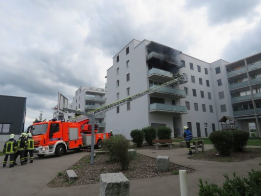 Spreitenbach AG: Wohnung durch Brand verwüstet