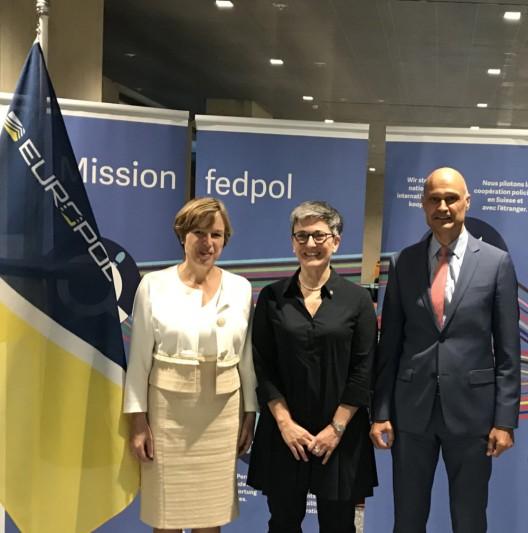 Bern BE: Arbeitsgespräch zwischen Polizeichef, Europol- und Fedpol-Direktorin