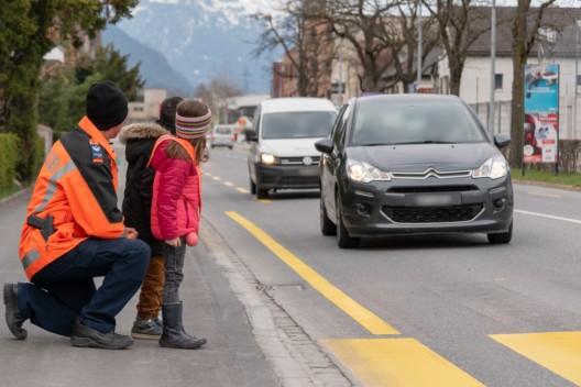 Chur GR: Verkehrskontrollen werden zum Schulbeginn intensiviert