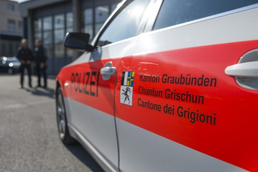 Chur GR: Während einer Polizeikontrolle mit Auto geflüchtet