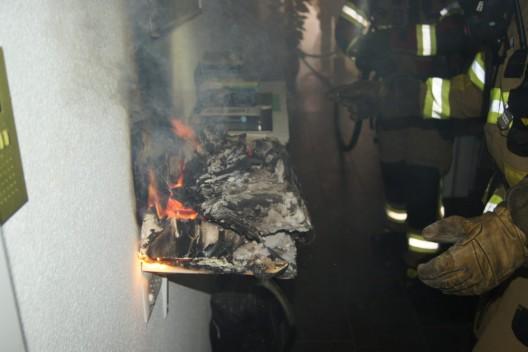Zug ZG: Brand in einer Wohnung - verletzt wurde niemand