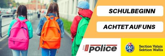 Kanton Wallis: Schulanfang – Ratschläge für Autofahrer