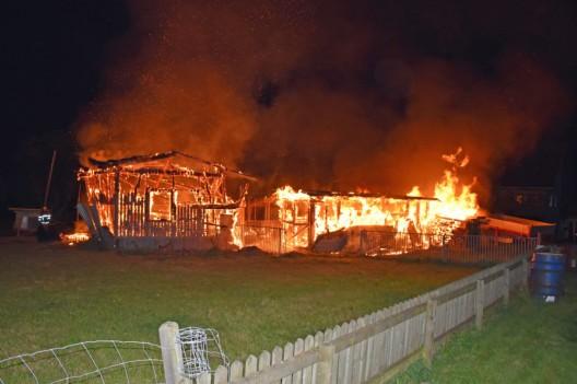 Schwarzenberg LU: Stallungen durch Feuer zerstört – mehrere Tiere verendet