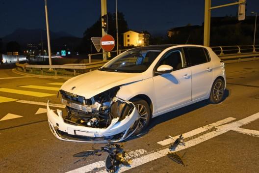 Emmenbrücke LU: Kollision zwischen zwei Autos – Rettungsdienst im Einsatz