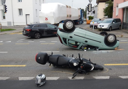 Salmsach TG: Bei Unfall verletzt