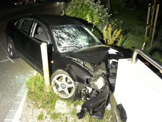 Götighofen TG: Alkoholisiert verunfallt - Mann musste ins Spital gebracht werden