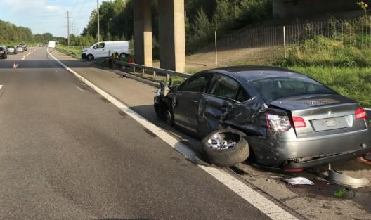 Felben-Wellhausen TG: Mit Pannenfahrzeug kollidiert