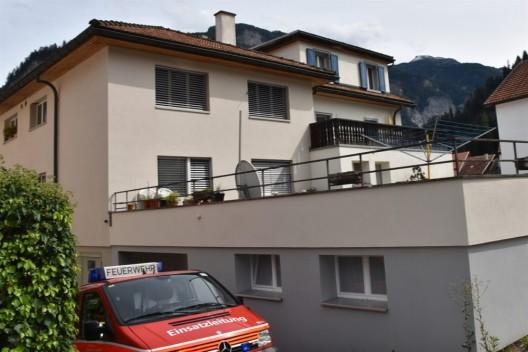 Thusis GR: Brandausbruch dank Eingreifen eines Nachbarn verhindert