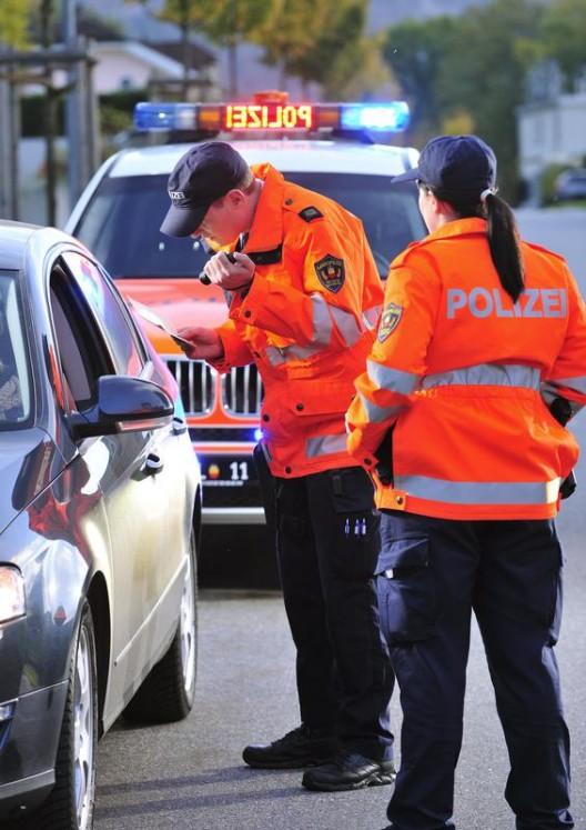Fürstentum Liechtenstein: Ergebnisse der Verkehrskontrollen im August