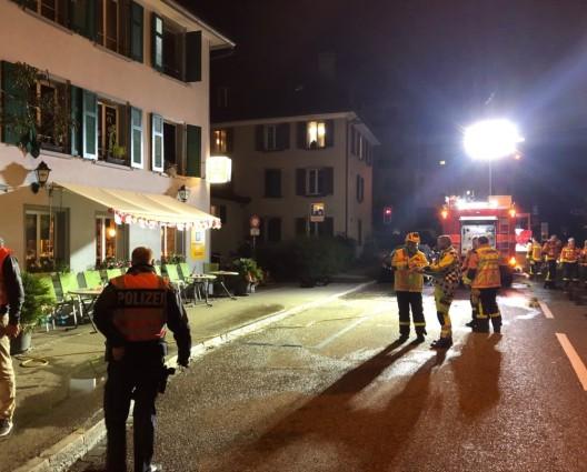St.Gallen SG: Mann bei Wohnungsbrand schwer verletzt