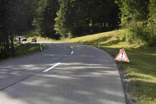 Ennetbühl SG: 54-jähriger Mann mit Rennrad gestürzt