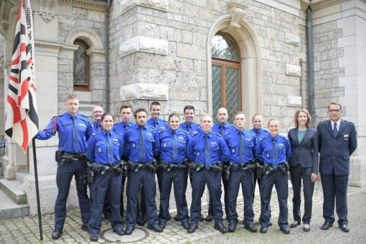 Neue Polizeiangehörige für die Stadtpolizei St.Gallen