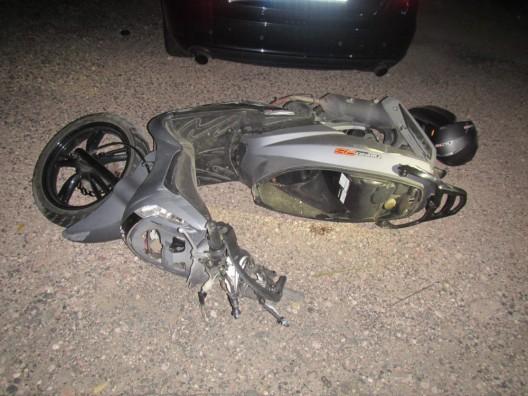 15-jähriger Rollerfahrer nach Sturz verstorben