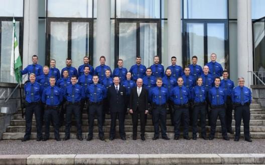 Bad Ragaz SG: 27 Aspirant(inn)en ins Korps der Kantonspolizei St.Gallen aufgenommen