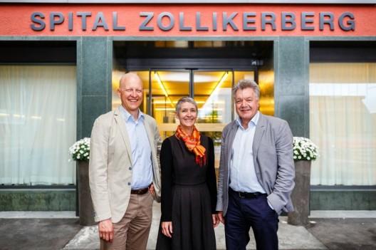 Das Spital Zollikerberg und das Stadtspital Waid und Triemli gründen Augenzentrum Zollikerberg