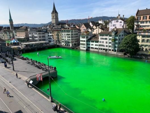 Stadt Zürich ZH: Substanz in der Limmat ungefährlich