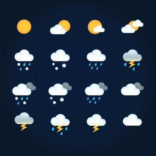 Teils stürmisches Wetter in der vergangenen Nacht und am Morgen