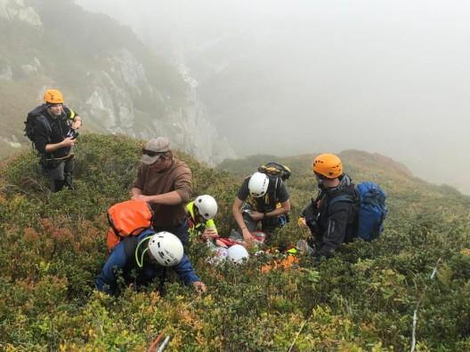 Andermatt UR: Vermisstensuche im unwegsamen Gelände - Einsatzübung geglückt