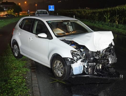 Willisau LU: Zwei Autos frontal zusammengestossen