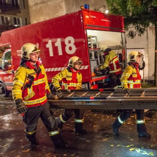 Feuerwehr Stadt Luzern: Kompanie II übt den Ernstfall