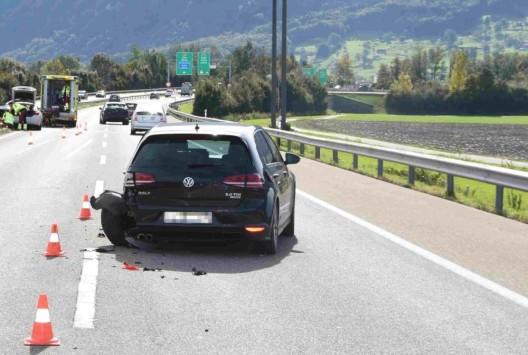 Benken SG: Auffahrkollision auf der Autobahn A53