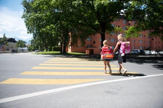 Kanton Wallis: Sicherheit auf dem Schulweg – Kapo zieht eine Zwischenbilanz