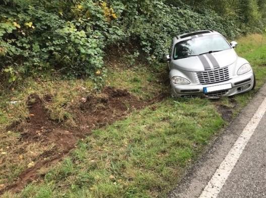 Maus verursacht Verkehrsunfall