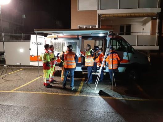 Altdorf UR: 60 Rettungskräfte im Einsatz - Blaulichtorganisationen üben den Ernstfall