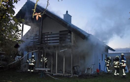 Rickenbach – Ortsteil Pfeffikon LU: Brand in einem Wintergarten – niemand verletzt