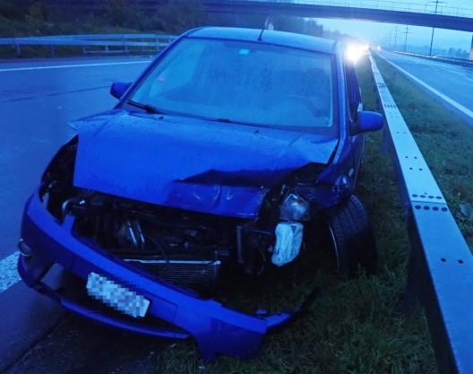 Autobahn A7 bei Hüttlingen TG: Bei Unfall verletzt