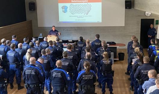 Aargau AG: Grosseinsatz gegen Einbrecher