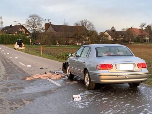 Dägerlen ZH: Schwerverletzte Frau (83) bei Verkehrsunfall