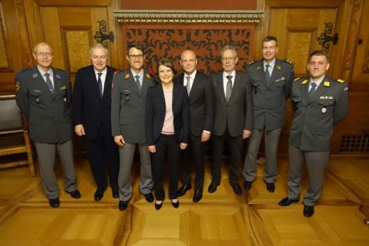 Basel BS: Wehrmännerentlassung 2019 - gemeinsam zum letzten Abtreten