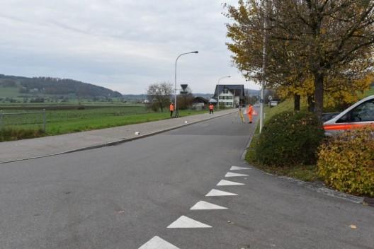 Bonstetten ZH: 81-Jähriger bei Velosturz lebensgefährlich verletzt