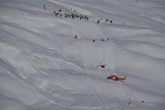 Arosa GR: Zwei verletzte Wintersportler bei Skiunfall - Rega im Einsatz
