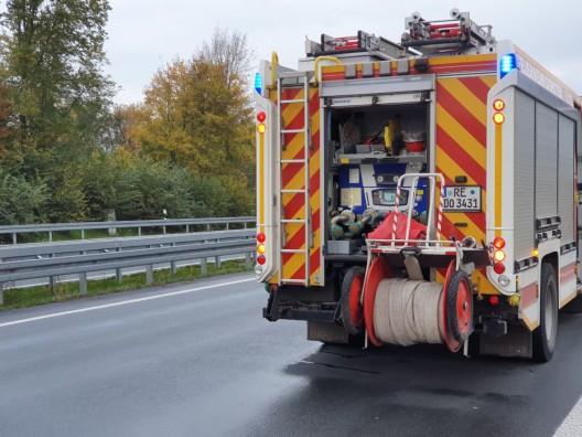 Tödlicher Motorradunfall auf der Bundesautobahn 31 in den frühen Morgenstunden