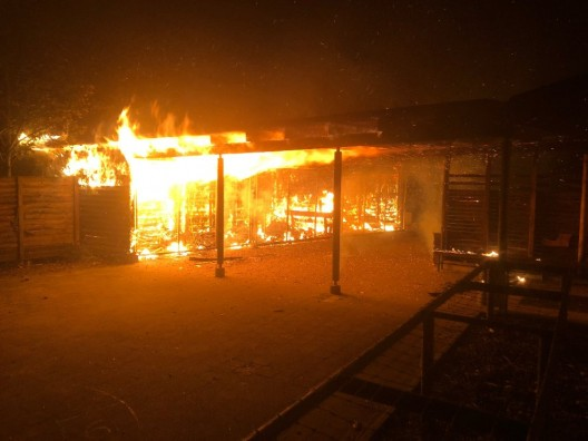 Schaffhausen SH: Brand auf Schulareal
