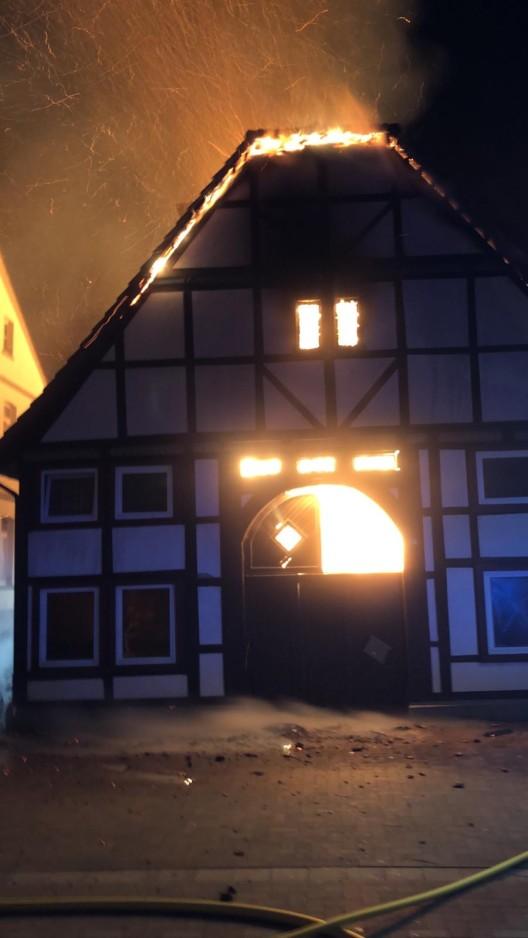 Feuerwehreinsatz wegen Großbrand in der Altstadt