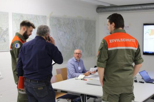 Führungsstab des Kanton LU - positives Fazit zur Sicherheitsverbundsübung 19