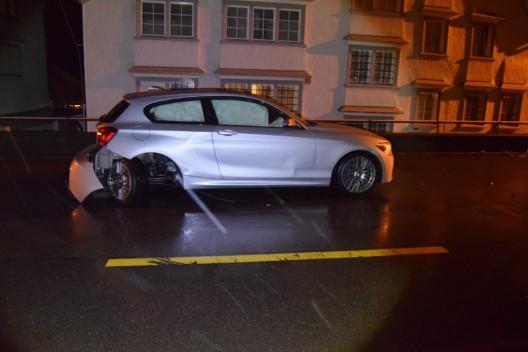 Teufen AR: Nach Verkehrsunfall wurde dem Lenker sein Führerausweis eingezogen