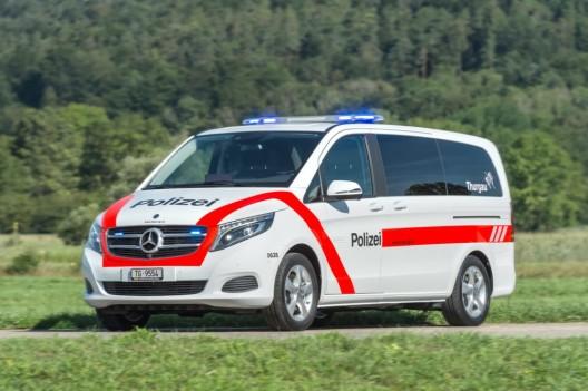 Häuslenen TG: Zwei Einbrecher (Bosnier) verhaftet