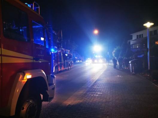 Feuer - Zwei verletzte Personen