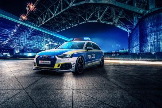 Legales Tuning: Kampagnenfahrzeug ist für jeden Polizisten ein Traumauto
