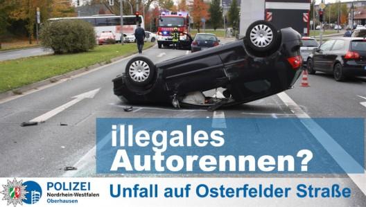 Zwei Brüder (Serben) liefern sich illegales Autorennen - mit Fahrzeug überschlagen