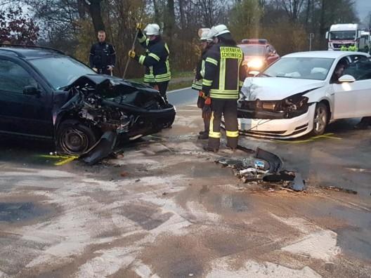 Auslaufende Betriebsmittel nach Verkehrsunfall