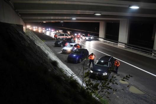 Kanton SG: Grosskontrollen - insgesamt wurden 327 Fahrzeuge kontrolliert
