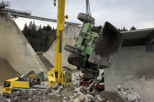 Lütisburg Station SG: Mann (57†) stirbt bei Arbeitsunfall