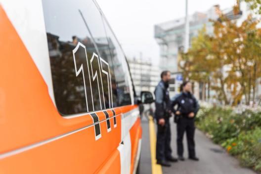 Stadt St.Gallen SG: Autofahrer schläft am Steuer ein