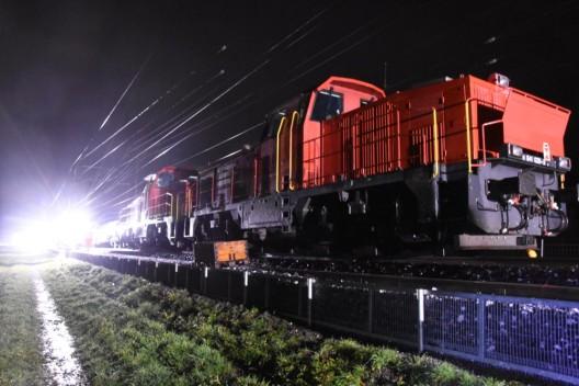 Vilters SG: Fünf Gleisarbeiter verletzen sich bei Arbeitsunfall