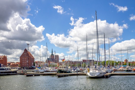 Bundespolizei nimmt Seemann (50) im Hafen Stralsund fest